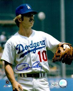 Signed-8x10-RON-CEY-Los-Angeles-Dodgers-Autographed-photo-w-COA
