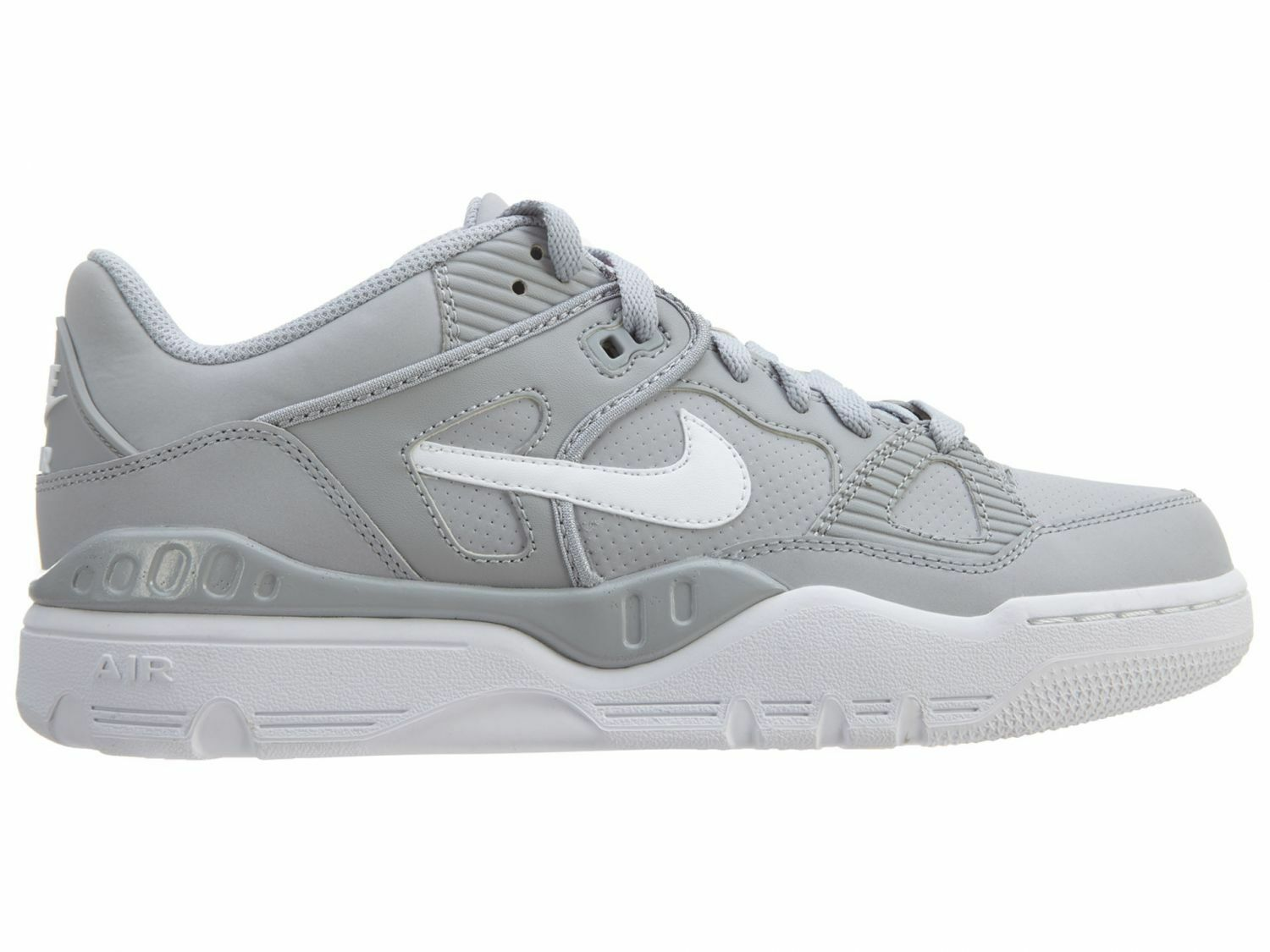 Nike Air Force III Low Mens 313640-002 Wolf Grey White Athletic shoes Size 8.5