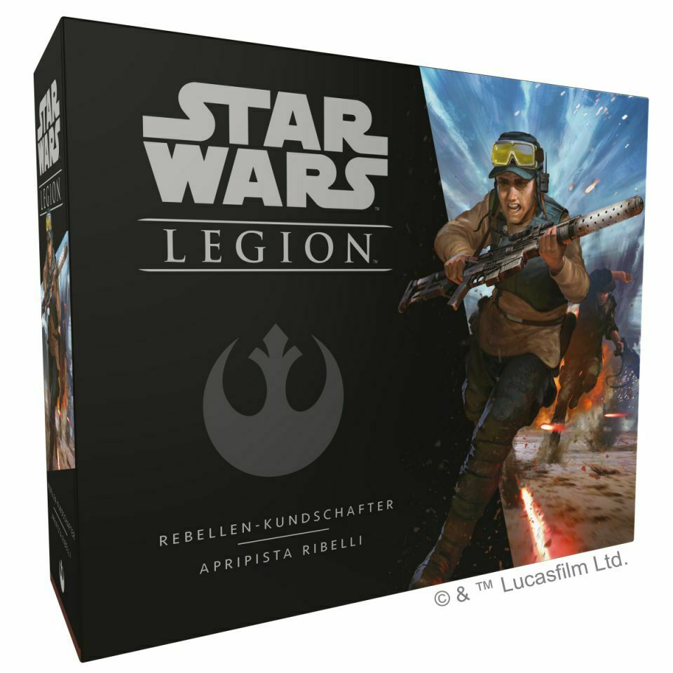 Star Wars Legion Rebels Kundschafter Extension (German   Italian) Ffg Swl