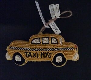 Pottery Barn Yellow New York City Taxi Cab Christmas Tree