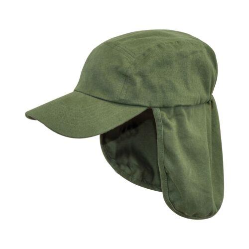 Highlander Legionari Cappello Cappello KEPI collo Flap Estate Cotone picchi d/'oliva