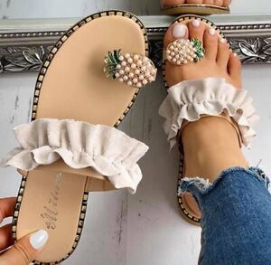 Womens-Fashion-Pineapple-Sandals-Open-Toe-Ring-Sandals-Hot-Summer