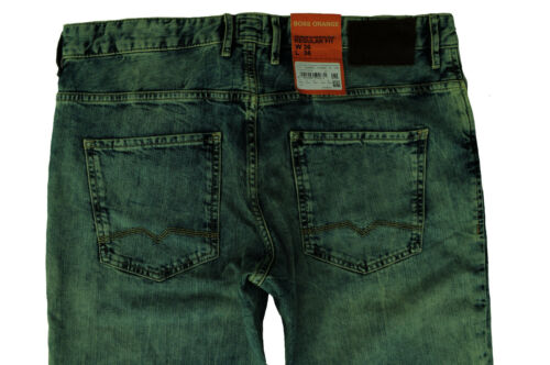 NUOVO w32//l34 w33//l34 w38//l34 HUGO BOSS JEANS PANTALONI Orange 24 Barcellona Drum