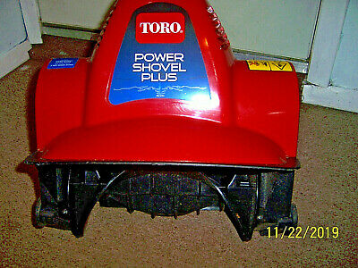 Toro Power Shovel Plus 7 5 Amp Electric Snow Blower Excellent Used