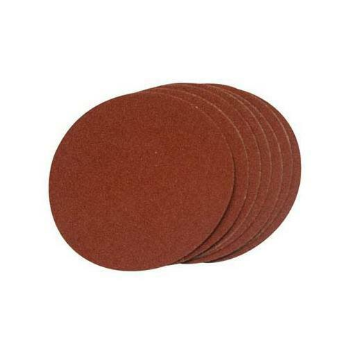 Self Adhesive Silverline Dischi Abrasivi 150 Millimetri 10Pk Grana 120
