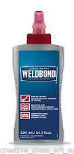 Weldbond Adhesive Glue 14.2 fl oz  - Universal adhesive mosaic and crafting glue