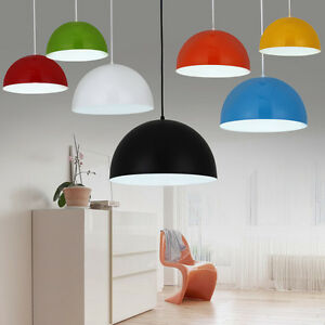 Modern-Metal-Dome-Retro-Style-Ceiling-Pendant-Light-Shade-Lampshades-Lamp-Shade