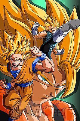 Poster A3 Dragon Ball Goku Vegeta Manga Anime Cartel