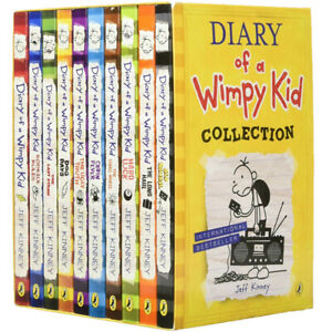 Jeff-Kinney-Diary-of-a-Wimpy-Kid-Series-Collection-10-Books-Box-Set-Cabin-Fever