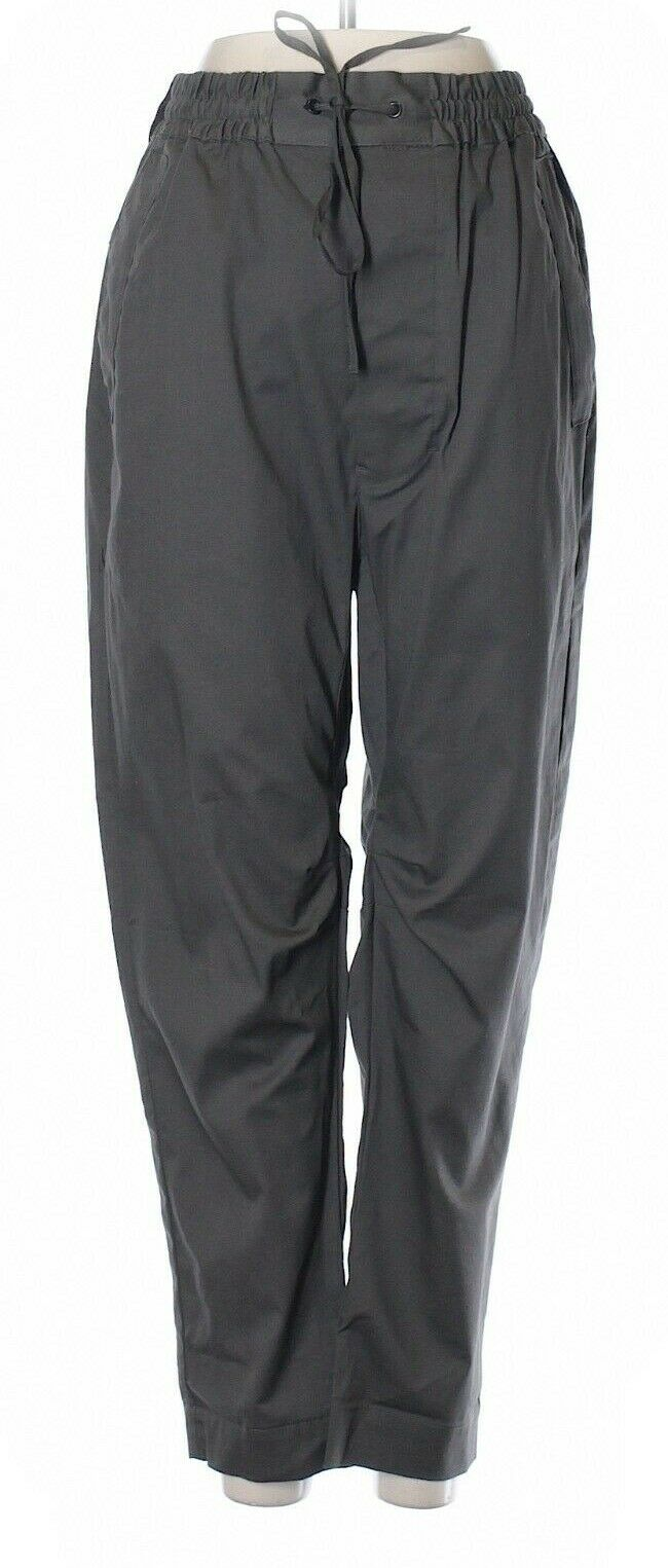 NWT Ron Herman Chapter Labyrinth Charcoal Crop Carpenter Pants Size 30