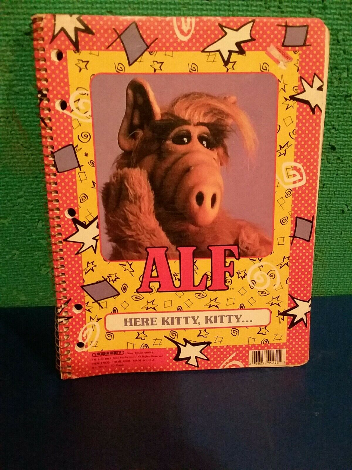 Alf Notebook Brand New Extremely Rare Vintage  1987 Alien Productions