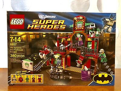 Lego Super Heroes Set 6857 Sticker Sheet The Dynamic Duo Funhouse Escape