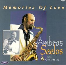 AMBROS SEELOS & HIS ORCHESTRA : MEMORIES OF LOVE / CD - NEUWERTIG