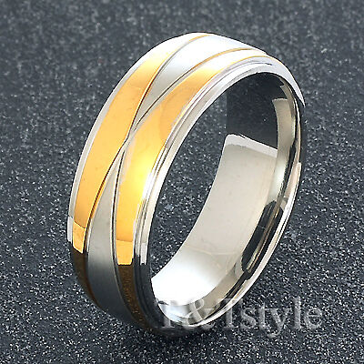 UNIQUE T/&T Stainless Steel RING Size 9 NEW