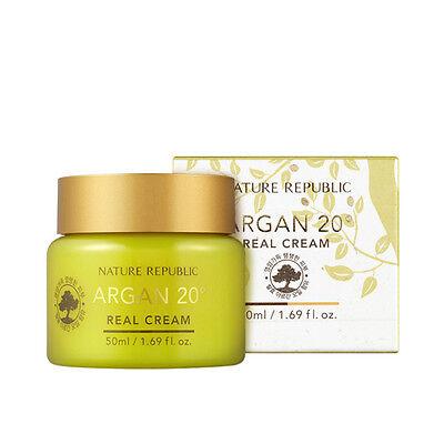 [NATURE REPUBLIC] Argan 20 Real Cream - 50ml