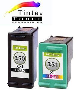 2-cartuchos-Tinta-para-hp350-351-XL-c4340-c4380-c4385-c4400-c4424-c4480-c4500