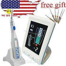 LCD Apex Locator Root Canal finder messure + Endo motor TREATMENT W Contra Angle