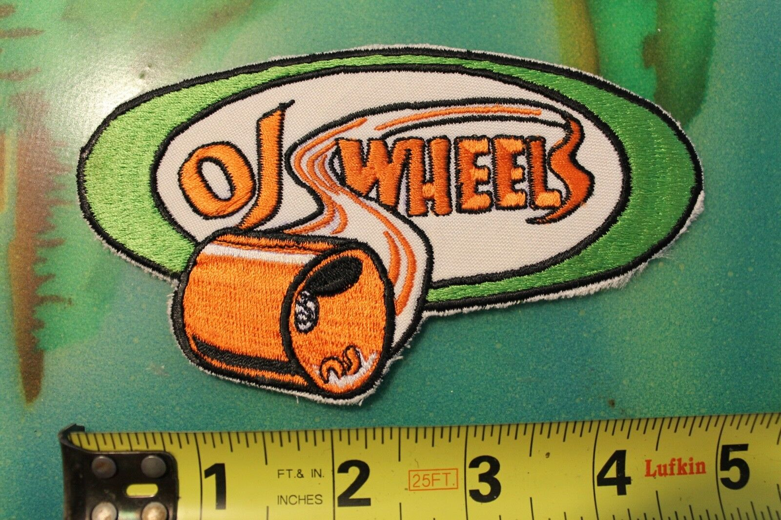 OJ Wheels Santa Cruz S  boards Classic 70's NOS Rare Original Vintage PATCH  latest styles