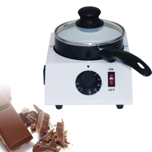 Electric Chocolate Melting Tempering Machine Melter Ceramic Non-stick Pot 40W UK