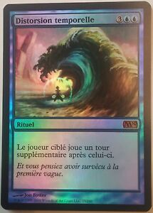Distorsion-Temporelle-M10-PREMIUM-FOIL-VF-French-Time-Warp-Magic-mtg