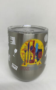 Disney Food and Wine 2021 Corkcicle Stainless Steel Stemless wine Tumbler New