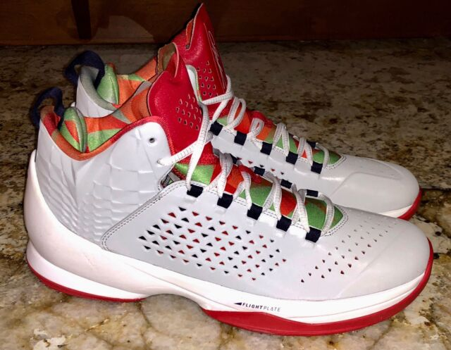9e204b4aa674 NIKE Air Jordan Melo M11 Grey Mist Red Green Basketball Shoes Sneakers Mens  11