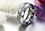 Anello-Anelli-Fede-Fedina-Fascia-Uomo-Donna-Unisex-Acciaio-Cristallo-Love-Coppia miniatura 4