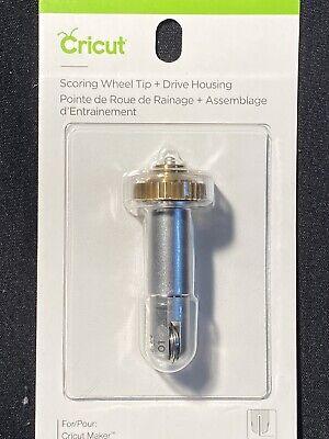 SEALED Drive Housing Combo Pack NEW Cricut SCORING WHEEL TIP
