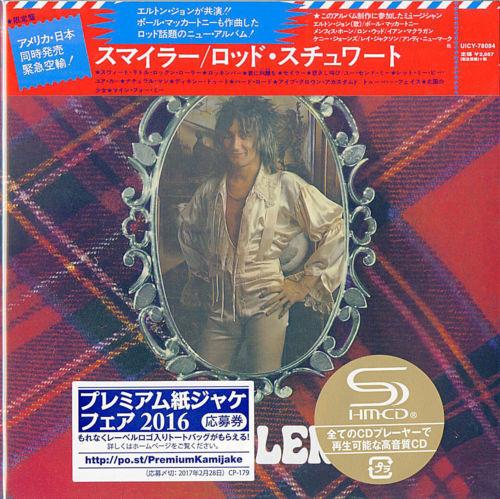 ROD STEWART-SMILER-JAPAN MINI LP SHM-CD BONUS TRACK Ltd/Ed G00