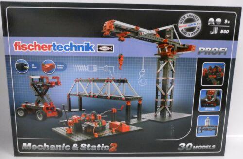 ** NEUF ** Fischertechnik 536622 professionnel Mechaniker /& static 2 ** OVP **