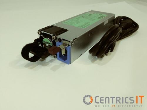 HP 720620-B21 1400w HOT PLUG PS DL360,DL380,ML350 GEN9 dps-1400cba 733428-101