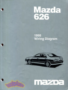 Mazda 626 shop manual service repair book 1998 electrical wiring image is loading mazda 626 shop manual service repair book 1998 asfbconference2016 Gallery