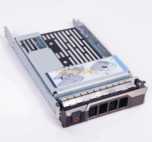 """Hybrid Drive Carrier 3.5/"""" tray 2.5/"""" adapter Dell 9W8C4 F238F R810 R515 R410 R320"""