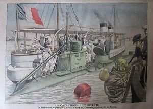 Bizerte-Submarine-Diver-Shaker-Muslim-Engraving-Petit-Journal-1906
