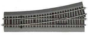 Roco-H0-42538-Weiche-links-Wl-15-mit-Bettung-Laenge-230-mm-15-NEU-OVP