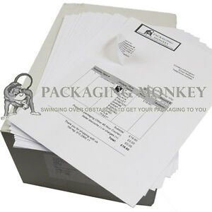 10,000 QUALITY A4 SHEETS OF INTEGRATED LABELS 110x60mm EBAY AMAZON POST PEEL OFF 5056025155497