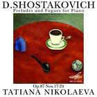 Präludien & Fugen op.87,17-24 von Tatiana Nikolayeva (2013)