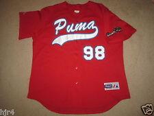 Puerto Rico #98 Puma Baseball Olympic Jersey XL