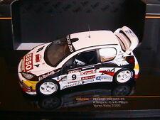 PEUGEOT 206 WRC #9 YPRES RALLY 2000 SNIJERS PLUYM IXO RAM440 1/43 ADECCO KNACK