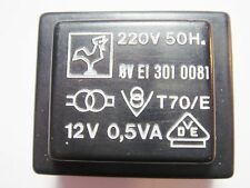 20 x Print Trafo 220V to 12V 0,5VA #2V70#