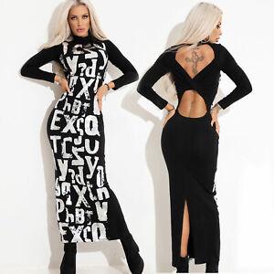 By-Alina-Mexton-Damen-Kleid-Maxikleid-Midikleid-Longshirt-Longpullover-Print