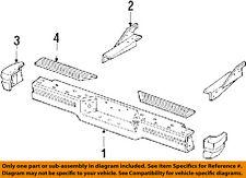 Jeep CHRYSLER OEM 86-92 Comanche Rear Bumper-End Cap Left 52001707