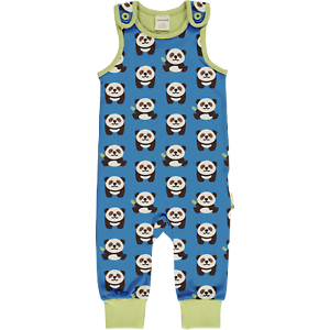 Maxomorra Panda Organic Combi Dungarees3 6 9 12 18 24 62//68 74//80 86//92