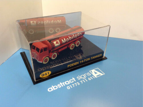 Dinky Matchbox Corgi Vehículo Diecast Coleccionables coche camión caso de exhibición de acrílico