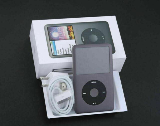 Apple iPod Classic 7th Generation 160GB Black (Latest Model) - 180DAYS WARRANTY