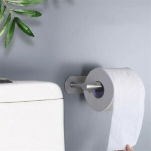 Stainless-Steel-Toilet-Paper-Holder-Tissue-Roll-Storage-Hook-Wall-Mount-Bathroom