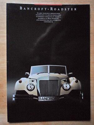 Publicity Brochure JENSEN S-V8 orig 1999 UK Mkt Glossy Sales