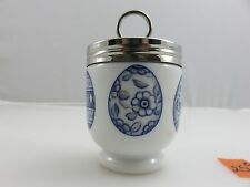 Royal Worcester BLUE EGGS Egg Coddler Cup Vintage Made In England *RARE*