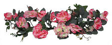 Rose Petal PINK SWAG ~ Silk Wedding Flowers ~ Arch Gazebo Decor Centerpieces NEW