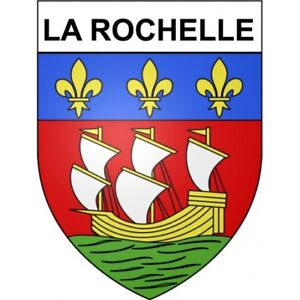La-Rochelle-17-ville-Stickers-blason-autocollant-adhesif